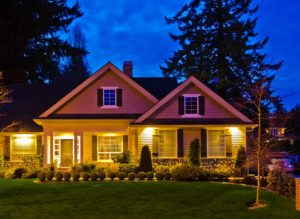 Lighting can improve the value of your home